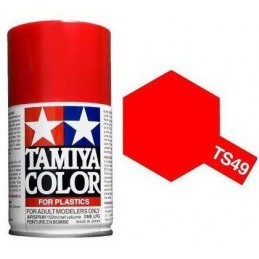Paint bomb red bright brilliant TS49 Tamiya