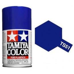 Paint bomb blue brilliant Telefónica TS51 Tamiya