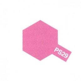 Bombe Lexan rose fluo PS-29 Tamiya