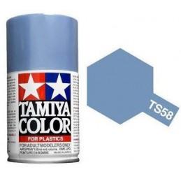 Peinture bombe Bleu Clair nacré TS58 Tamiya