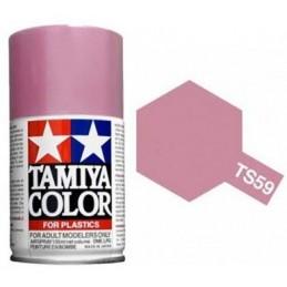 Peinture bombe Rouge Clair nacré TS59 Tamiya