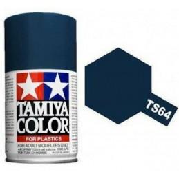 Peinture bombe Bleu Mica Foncé brillant TS64 Tamiya