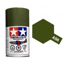 Peinture bombe Vert Olive Terne USAAF AS6 Tamiya