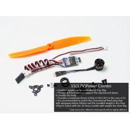 Engine Kit indoor motor + ESC 5A 1S + propeller 5x3 DW hobby