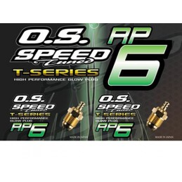 Spark plug OS Turbo speed RP6