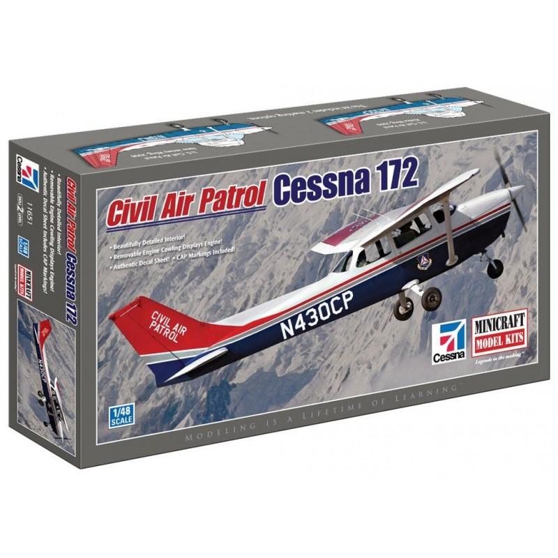 Cessna 172 civil air patrol 1/48 Minicraft