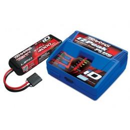 Chargeur rapide 40W 2970G + Lipo 3S 4000mAh 2849X Traxxas