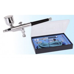 BD-134K Scientific Hybrid Action Dual Action Airbrush