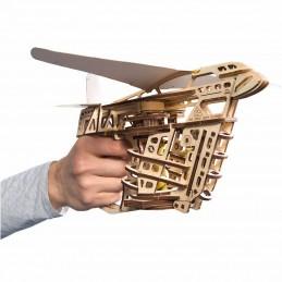 Lanceur catapulte d'avions Puzzle 3D bois UGEARS