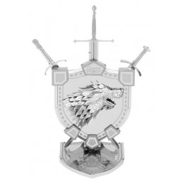 Iconx House Stark Sigil Game Of Thrones Metal Earth