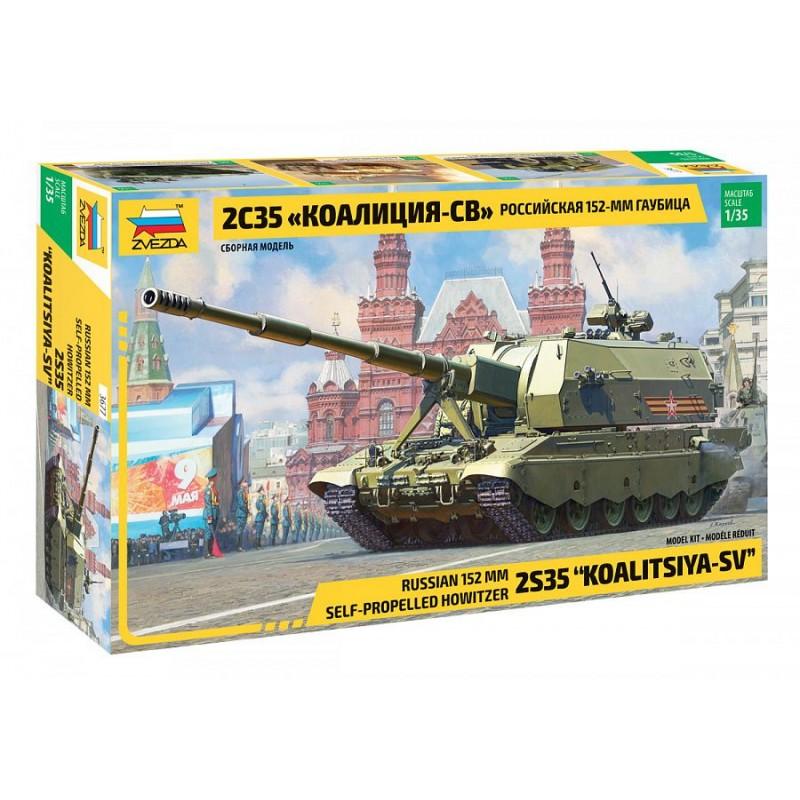 Char Koalitsiya-SV 2C35 Russian 1:35 Zvezda