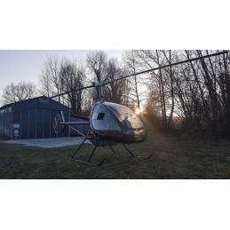 Baptism Prestige helicopter...