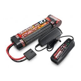Pack Chargeur 2A 2969G + 1x NiMh 8.4V 3000mAh 2923X Traxxas