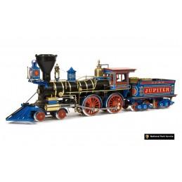 Locomotive Jupiter 1/32 kit construction bois métal OcCre