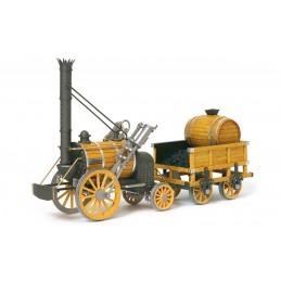 Locomotive Rocket 1/24 kit construction bois métal OcCre