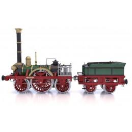 Locomotive à vapeur Adler 1/24 kit construction bois métal OcCre
