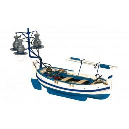 Bateau barque Bot De Llum 1/15 kit construction bois OcCre