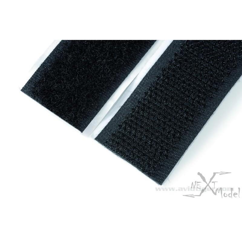 bande velcro autocollant m f 20mm gforce gf 1470 001. Black Bedroom Furniture Sets. Home Design Ideas