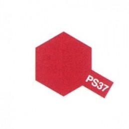 Bombe Lexan rouge translucide PS-37 Tamiya
