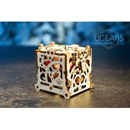 Boîte à dés 3D bois UGEARS