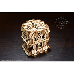 UGEARS wood 3D cardbox