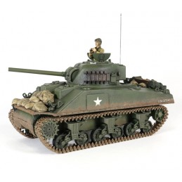 RC M4A3 Sherman tank 1/24...