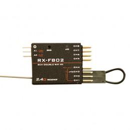 Récepteur FrSky RX-F802 7 voies pour X9D Jumper T10 T16
