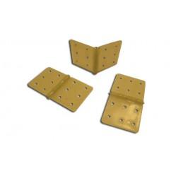 Charnières 36x18mm assemblées (10) A2Pro - S0446385