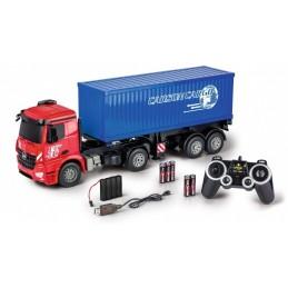 Camion Mercedes Arocs avec container 1/20 RTR Carson 500907317
