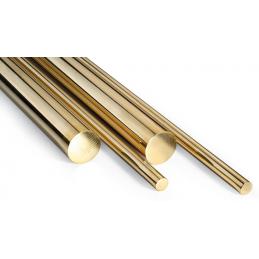 Brass stem 0.8mm x 1m