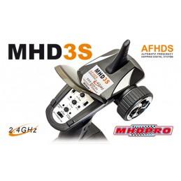 Radio voiture MHD 3S LiPo 3Ch 2.4Ghz Z01003