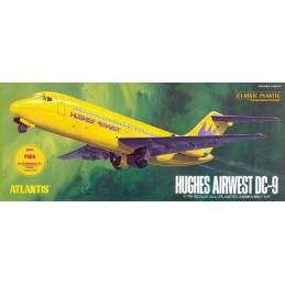 Hughes Airways DC-9...