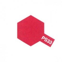 Bombe Lexan rouge cerise PS-33 Tamiya