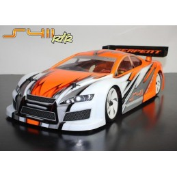 S411 Brushless 4WD 2.4Ghz 1/10 RTR Serpent 40007