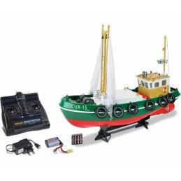 Bateau de pêche Cux-15 2.4Ghz RTR Carson 500108031
