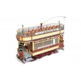 Tram London L.L.C. 106 1/24 kit construction bois métal OcCre 53008