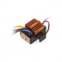 Variateur 40A étanche charbons spécial Crawler et Bateaux 1/10 Konect KN-BRUSH40-CRAWBT