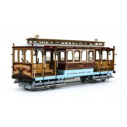 Tram Cable Car San Francisco 1/24 kit construction bois métal OcCre 5307