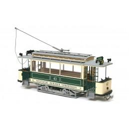 Tram Berlin 1/24 kit construction bois métal OcCre 53004