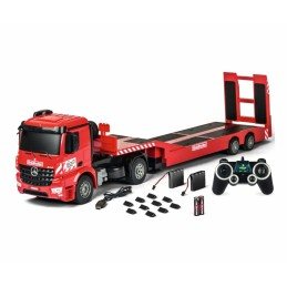 Camion Semi Remorque M-B Arocs + remorque porte-engin Carson 500907307