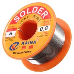 Tin weld 0.8mm 63% tin 50g