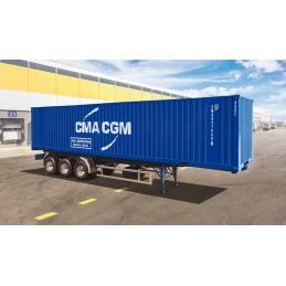 Remorque Container 40' 1/24 Italeri I3951