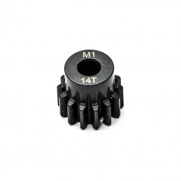 Pignon moteur 14T 1/8 5mm module 1 Hobbytech KN-180114