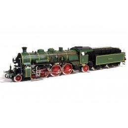Locomotive vapeur S3/6 BR-18 1/32 kit construction bois métal OcCre 54002