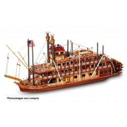 Boat Mississippi 1/80 Kit...
