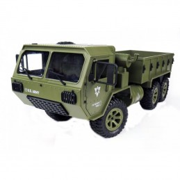 Camion Crawler US Militaire 6WD 2.4Ghz 1/12 RTR Siva 50245
