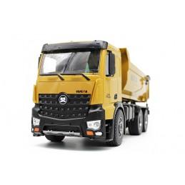 Camion benne RC en métal 10ch 1/14 2.4Ghz - HuiNa CY1582