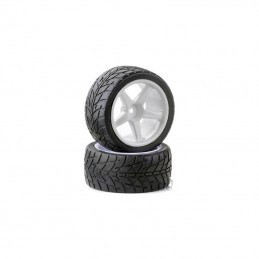 Tires front track for TT 1/10th - Ansmann - 2pcs