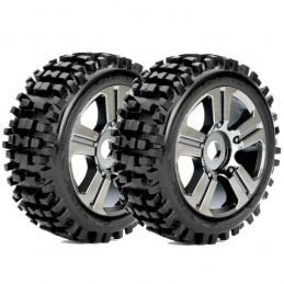 RHYTHM-mounted tires glued...