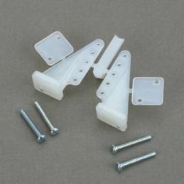 Guignols symétriques 29mm + vis (2) Dubro S133237